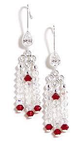 07 01 800 bridal veil crystal chandelier earrings
