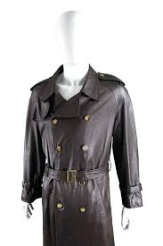 mens leather trench coat black brown leather vintage belted trench coat for mens leather trench mens leather trench coat