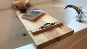 easy woodworking make a bathtub caddy with a 2x12