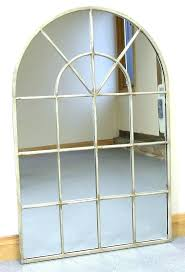 large arched mirror. Metal Arch Mirror Large Mirrors Vintage Cream Arched Window Wall X In U