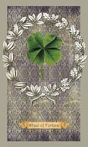 11 x 17 in. Wheel of Fortune (<b>Four Leaf Clover</b>)— <b>Large Print</b> from ...