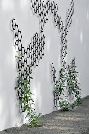 Garten Im Quadrat Rankhilfe Modernes Rankgitter Comb Ination