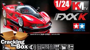 new release plastic model car kitsUnboxing Tamiyas New Ferrari FXX K 124  YouTube