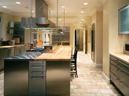charming how to choose kitchen tiles. The Stone Floor Can Be An Option Kitchen Flooring Ideas Combined It With A Island Aluminium Lustrous Black Chair While For Walls Of Charming How To Choose Tiles U