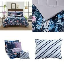 mainstays navy fl 10 piece bed in a