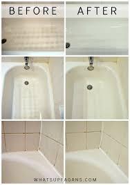 my dirty little secret for a sparkling clean bathtub magic eraser bathtub