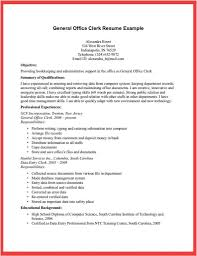Cover Letter Office Clerk Resume Example Boat Jeremyeaton Co Office