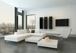 minimalist living room furniture. White Corner Sofa Modern Minimalist Living Room House Furniture M