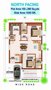 exquisite north facing house plan vastu home plans for lovely as per