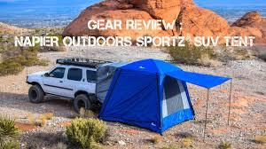 Napier Outdoors Sportz SUV Tent Review