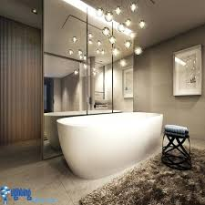 bathroom lighting chandelier fantastic chandelier bathroom lighting bathroom lighting ideas bathroom with hanging lights over bathtub