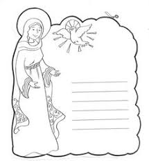 Small Picture Mary the handmaid of the Lord Catholic Coloring Page Catholic