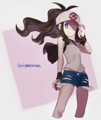 Twitter | Pokemon hilda, Black pokemon, Pokemon oc