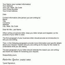 Business Letter Format Sample Business Letter Format Sample Template ...
