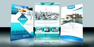 Brochure Design Templates Maker Software Free Flyer Template