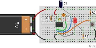 How To Make A One Minute Timer 555 Timer Basics Monostable Mode