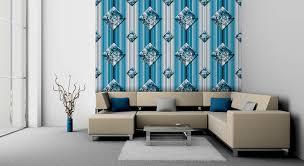 Wandgestaltung Schlafzimmer Streifen Parsvending Com Zu Blau Garten