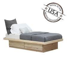 twin platform bed. Image 1 Twin Platform Bed T