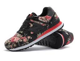 new balance shoes 574. new balance 574vcr floral black rose womens running shoes,cheap balance,discount shoes 574