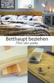 Betthaupt Beziehen Schlafzimmer Wintergemütlich Machen