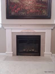 glamorous fireplace mantel surround pics ideas