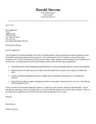 Resume Hospitality Cover Letter Australia