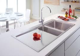 White Sinks For Kitchen Houzz Kitchen Sinks Novatto 33 X 22 Redondeado Curved Kitchen