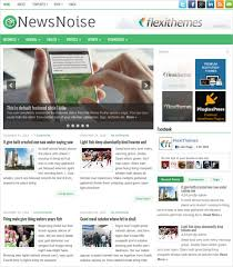 Newspaper Html Template 30 News Blog Themes Templates Free Premium Templates