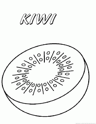 Small Picture Kiwi fruit Coloring Pages