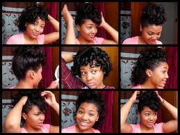 Easy Hairstyles On The Go 7 Easy Hairstyles For Relaxed Hair Styles For Curled Hair