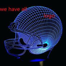 dallas cowboys desk lamp rugby cool new cowboy helmet led night light kid sleep bulb touch dallas cowboys desk lamp