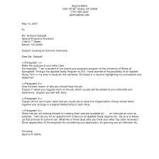 General Cover Letter For Resume Templates With Example Of Ideas