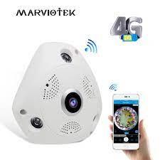 3G/4G LTE wireless IP Kamera sim karte 3MP alarm VR kamera 360 Video  überwachung 360 grad ip ptz mini kamera ip fahrzeug 960P ip ptz wireless  ipip camera sim - AliExpress