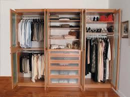 free standing wood closet frost