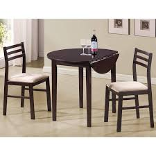 Amazoncom Monarch Specialties 3 Piece Dining Set With A 36 Inch