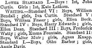 Papers Past | Newspapers | New Zealand Times | 17 December 1881 | SCHOOL  EXAMINATIONS.