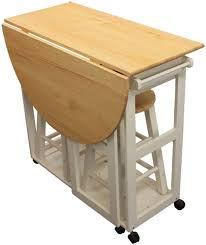 Collapsible Kitchen Table Chair Wood Folding Dining Room Table And Chairs Fold Away Uk Space