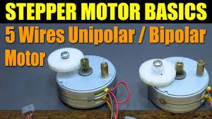 stepper motor basics 5 wires unipolar bipolar motor stepper motor basics 5 wires unipolar bipolar motor