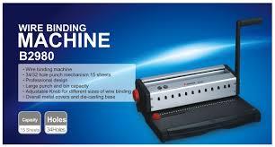 Binding, <b>COMIX</b> Binding Machine <b>B2980</b>