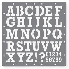printable letter stencils for painting free printable stencil numbers and letters 437108