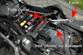 installing garmin zumo 550 europe rides out a fuse i mean and are wondering which fingernails you can do out there is a fuse puller stored inside the fuse box for you to use see fig