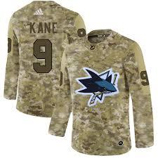 San Jose Jersey Sharks Military