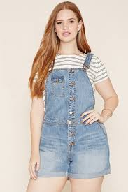plus size overalls shorts plus size denim overall shorts forever 21 plus 2000187462 want