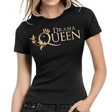 Drama Queen Style Fun Krone Crown Sprüche Fun Comedy Damen Lady