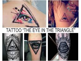 Meaning Of A Tattoo The Eye In The Triangle Sense Photo Examples