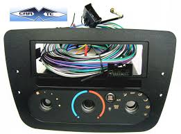 ford taurus w rotary climate controls 2000 single din radio ford taurus w rotary climate controls 2000 single din radio faceplate dash install stereo kit w pocket