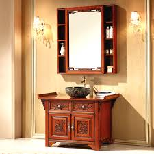 Curved Bathroom Vanity Cabinet Bathroom Design Ideas Bathroom Light Brown Teak Curved Bathroom