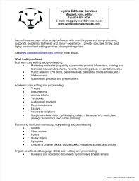 Cover Letter Sample For Proofreader Job Cover Letter Resume