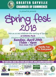 Spring Festival Sayville Spring Festival 2018 Greater Sayville Chamber Of Commerce