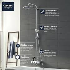 shower systems euphoria set model max obj s grohe system mat bathrooms euphor
